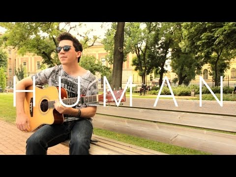Human - Christina Perri (fingerstyle guitar cover by Peter Gergely)