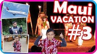 Hawaiian Dancers and Luau Dinner for Kids and Family, Fun Maui Vacation Part 3 - TigerBox HD
