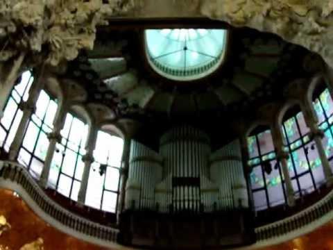 Organo del Palau de la Música Catalana