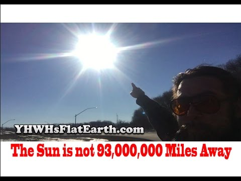 The January 1, 2017 Sun and Moon are Below the Dome Proving the Flat Earth