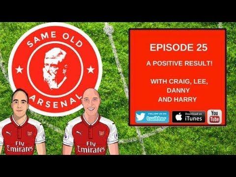 Episode #25 | Arsenal v Bournemouth | A Positive Result |