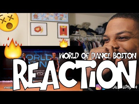 IM SPEECHLESS B-Dash & Jaja Vankova | FrontRow | World of Dance Boston 2017 REACTION!!!