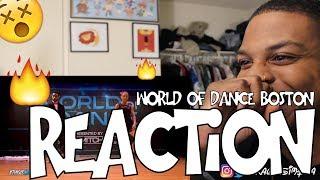 IM SPEECHLESS B-Dash & Jaja Vankova | FrontRow | World of Dance Boston 2017 REACTION!!!