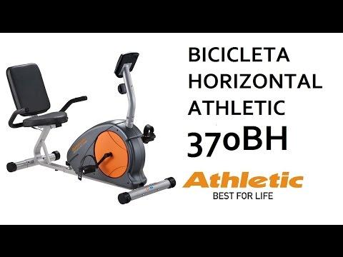Athletic - Bicicleta Horizontal Advanced 370BH - YouTube 42601a8148871