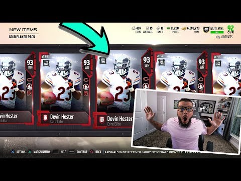 2 MILLION COIN PACK OPENING! LIMITED DEVIN HESTER + FAN FAVORITE PACK | MADDEN 18 PACK OPENING
