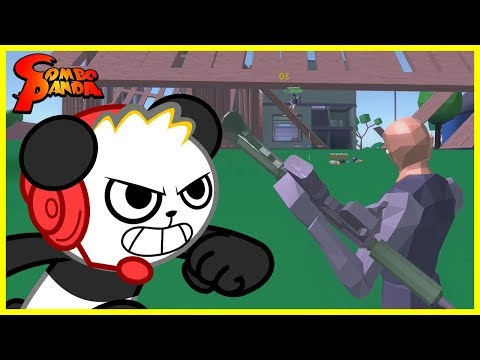 FORTNITE VS. ROBLOX ! Roblox Strucid Let's Play With Combo Panda