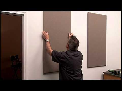 Instalaci n de paneles auralex elite youtube - Aislantes acusticos caseros ...