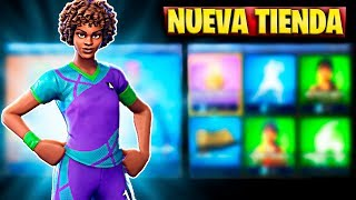 FORTNITE'S NEW STORE TODAY JULY 10TH FOOTBALL SKIN AND BAILE THERAPY GESTO