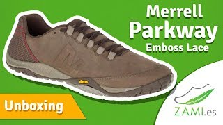 03950130287b Unboxing Merrell Parkway Emboss Lace
