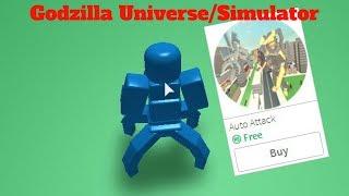 How To Get Auto Attack For Free   Godzilla Universe/Simulator (Roblox)