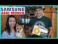 Samsung ASIC Miners W/ 10nm Chips - Fastest and Most Efficient BTC Miner by Halong Mining