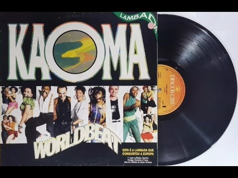 "KAOMA - ""LAMBADA"" - (Vinil Completo 1989)"