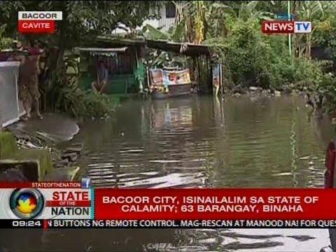 SONA: Bacoor City, isinailalim sa state of calamity; 63 barangay, binaha