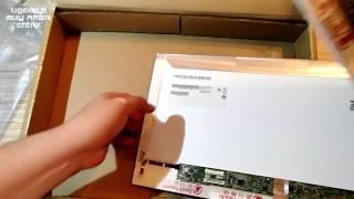 Распаковка и установка матрицы для ноутбука из Китая(, 2015-06-14T11:11:47.000Z)