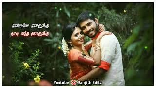 Rasathi Un Manasukulla Intha Whatsapp Status