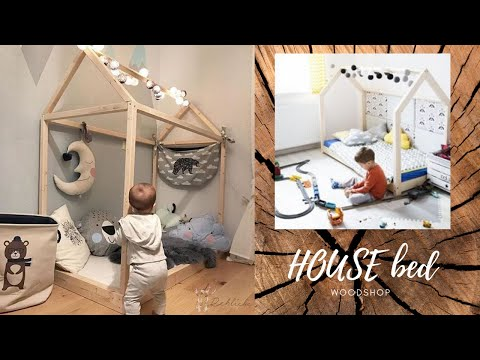 house-bed-.baby-free-diy-furniture-plans-//-how-to-build-a-toddler-house-bed