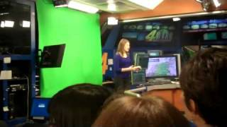 MSM Student Tour of KFOR TV News Channel 4