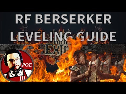 How to level Righteous Fire to maps in 4 hours. Full speed leveling guide
