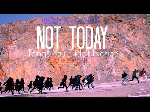 Thumbnail: BTS ~ Things You Didn't Notice In Not Today Music Video