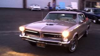 1965 GTO Leaving the 2014 CAM Cruise