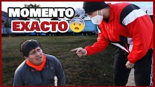 JD PANTOJA ENCARANDO AL ACOSAD0R /ELSUPERTRUCHA