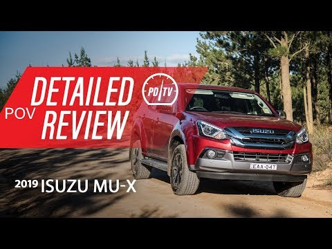 2019 Isuzu MU-X 4x4: Detailed review (POV)