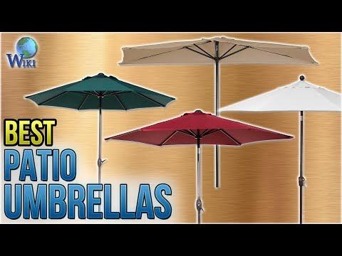 10 Best Patio Umbrellas 2018