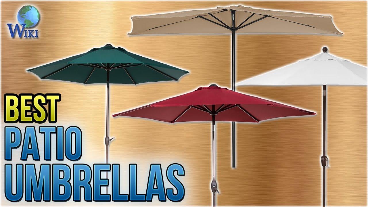 10 best patio umbrellas 2018 - Best Patio Umbrella