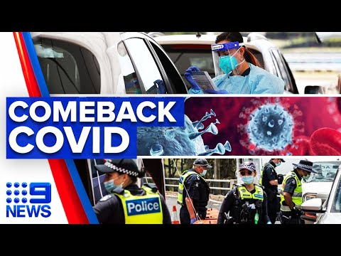 Coronavirus: Victoria records new cases linked to Sydney outbreak | 9 News Australia thumbnail