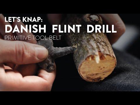 Let's Knap: Flintknapping a Danish Flint Drill