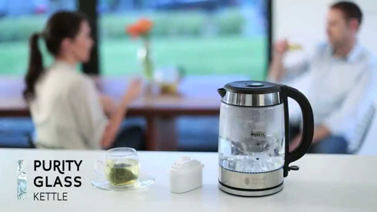 russell hobbs uk purity brita kettle youtube. Black Bedroom Furniture Sets. Home Design Ideas