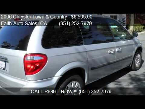 2006 chrysler town and country 4x4 for sale in temecula ca youtube. Black Bedroom Furniture Sets. Home Design Ideas