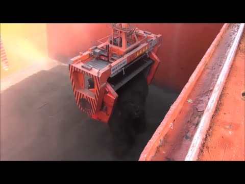 Dust Free Loading of Bulk Commodity in Chile (eng)