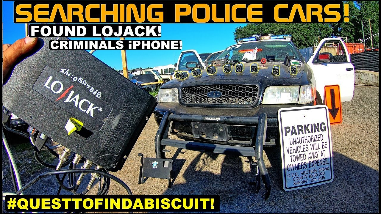 Lojack For Cars >> Searching Police Cars Found LoJack & Loyalist iphone ...
