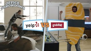 OfficeThrowdown: Yelp Versus GrubHub!
