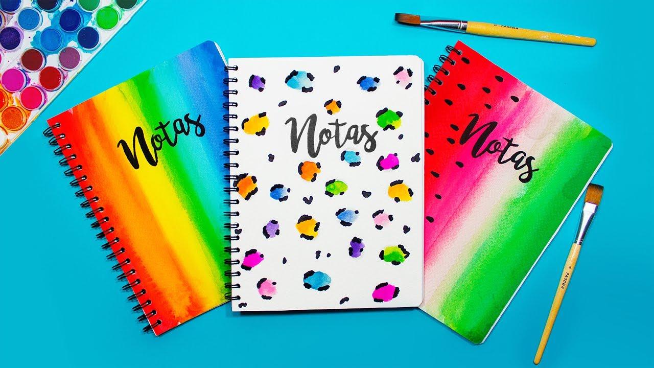 Ideas De MÁrgenes Para Decorar Cuadernos Y Libretas: Ideas Para Decorar Cuadernos Y Libretas DIY T