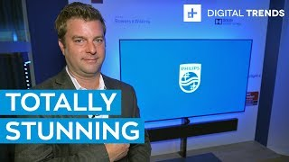 New Philips OLED+ 984 4K HDR OLED TV | First Look