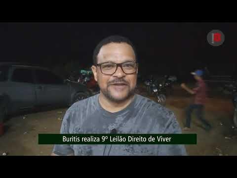 Buritis realiza 9º Leilão Direito de Viver.👏👏