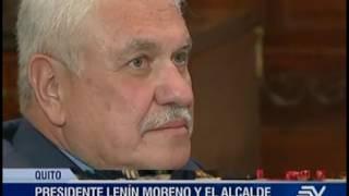 Presidente Moreno dará apoyo a tranvía en Cuenca, según alcalde Cabrera