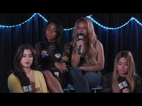 Dinah apologizing to Camila in a interview