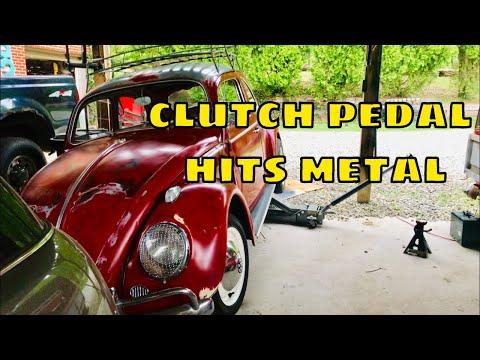 Volkswagen Beetle clutch cable fix and adjust