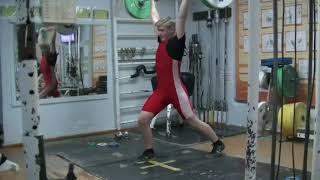 Коркин Данил, 14 лет, вк 77 Толчок 50 кг Личный РЕКОРД! Новичок