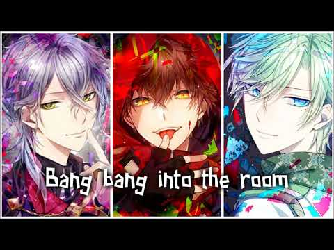 Bang Bang Switching Vocals Male Version   Nightcore   YouTube