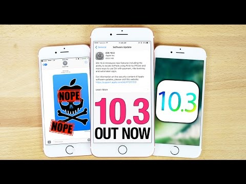 iOS 10.3 Released - Everything You Need To Know!