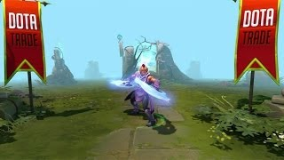Dota 2 Anti-Mage - Arcs of Manta Pack custom animation preview