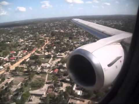 Landing at Julius Nyerere Airport - Dar Es Salaam