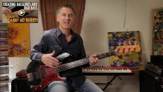 How to Create R&B Bass Lines and Grooves with Danny Mo Morris /// Scott's Bass Lessons