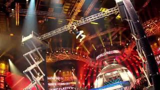 Crazy Trampoline Stunt Guinness World Record - Jesse Pierce