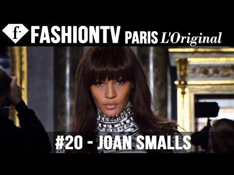 Joan Smalls - Model Talk | Fall/Winter 2013-14 Fashion Week | FashionTV