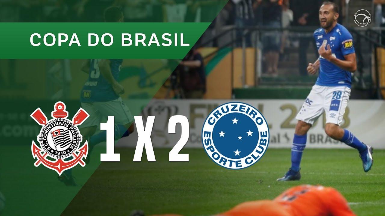 53c82ef691 CORINTHIANS 1 X 2 CRUZEIRO - GOLS - 17 10 - COPA DO BRASIL 2018. UOL Esporte